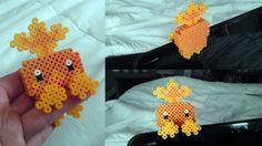 3D Perler Hoenn Starter by Y2KDesign on Etsy Pokemon Sprites, Pokemon Champions, Diy Perler Beads, 3d Character, Kandi, Bead Art, Submissive, Beading Patterns, Pixel Art
