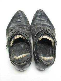 These Macabre Shoes Are Straight out of Your Nightmares | Mental Floss UK