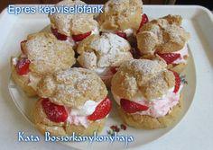 Epres képviselőfánk - barna rizslisztből (Gluténmentes) | Kissné Zilahi Katalin receptje - Cookpad receptek Cereal, Muffin, Food And Drink, Paleo, Breakfast, Breakfast Cafe, Muffins, Paleo Food