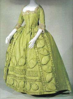 Robe a la Française circa 1780