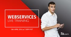 WebServices Live Training (By Manoj) Join us for a free Orientation session on 18th April @ 7.30 PM  Pacific to realize the power of Web Services. Day-01 & Day-02 Demo Sessions on 21st and 22nd April 2016 @ 7.30 PM Pacific Register here - http://itelearn.com/webservice-soap-ui-live-training  +1-314-827-5272 FREE FREE (US) +91-837-4323-742 (India)
