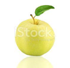 Yellow apple – banque photo libre de droits