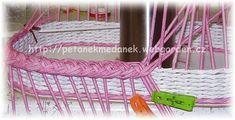 мастер-класс по плетению косички из газетных трубочек