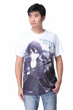 Sword Art Online Kirtio Pattern Costume Cosplay Short Sleeves Shirt Cosplay_Rim xcoser