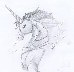 Robot unicorn by YuzukiMadoko