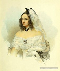 Natalia Nikolaevna (Goncharova) Pushkina, wife of. European Dress, Painted Cottage, Sand Sculptures, Pastel Watercolor, Old Master, Female Portrait, Victorian Fashion, Art Gallery, Wonder Woman