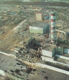 Chernobyl - April 26, 1986 The most terrible nuclear disaster in the world's history. Ukraine, Belarus, and Russia most affected.