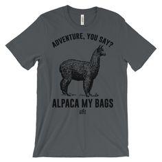 Alpaca My Bags - Men's Funny T-Shirt