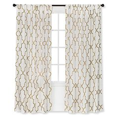 Threshold™ Dot Lattice Curtain Panel : Target