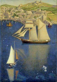 Joseph Edward Southall - The Schooner, England, 1907