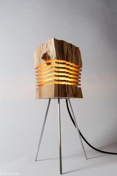 modern lighting sculpture by splitgrain on etsy
