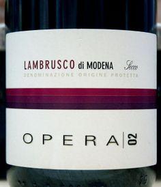 Ca Montanari Opera 02 Lambrusco NV