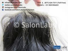 Closures - Standard Indian Hair (Non-Remy Cuticle Free)