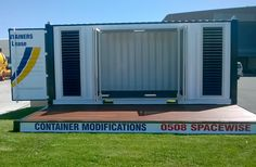 Extensive Product Range of Shipping Containers. Locations Across New Zealand. Container Houses, Shipping Container Homes, 20 Years, New Zealand, Projects To Try, Outdoor Decor, Storage Container Homes, Shipping Container Cabin