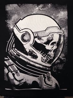 Death Space Back Patch   Patches   Punk Patches