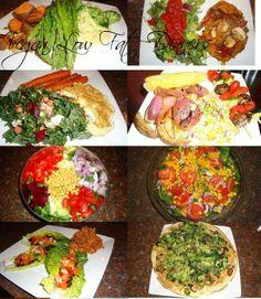 vegan high carb, low fat dinners