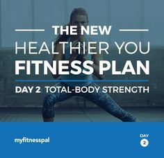 The New Healthier You Fitness Plan, Day 2: Total-Body Strength