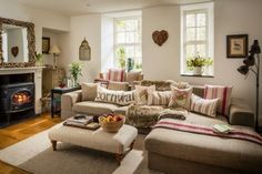 Country-chic interiors make this luxury home stay a cosy sanctuary