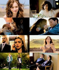 Alex e Rosie. Lily Collins, Love Movie, Movie Tv, Alex And Rosie, Movies Showing, Movies And Tv Shows, Stuck In Love, Dramas, Romantic Films