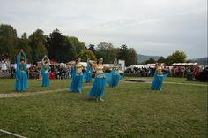 Tänzerinnen der DANZA ATICA aus Italien, Villadose