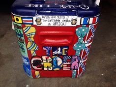 KA painted cooler