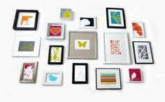 Framed modern art prints