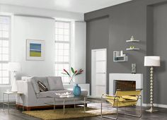 This is the project I created on Behr.com. I used these colors: MINED COAL(PPU18-18),