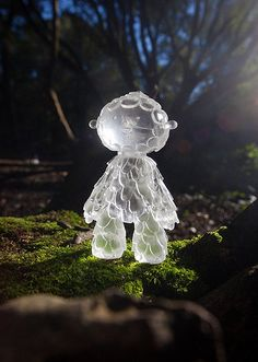Muju Water Guardian  Clear Bioresin Sculpture by muju on Etsy, £35.00