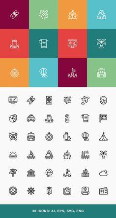 New travel logo design icon set Ideas Travel Icon, Travel Logo, New Travel, Travel And Tourism, Holiday Travel, Travel Europe, Travel Packing, Travel Usa, Travel Destinations