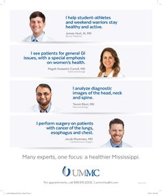 University of Mississippi Medical Center - New Physician Print Ad (Dec. 2016)