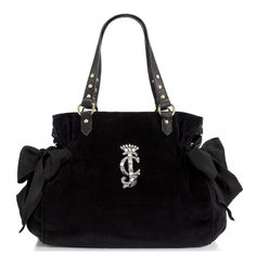 Juicy Couture Juicy Couture High Drama Velour Ms. Daydreamer Bag