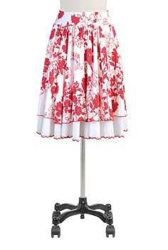 Floral layered skirt - this is the same pattern as the shirt I ordered, but I like it. A white shirt would look great with it. And I actually like wearing skirts slightly more than dresses. Still far less than pants though.