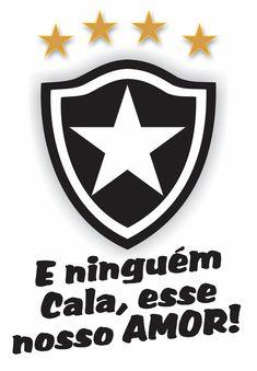 Frases - Foto do escudo do botafogo