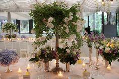 Romantic wedding flowers