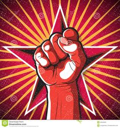 Image result for russian revolution fist posters