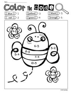 Print and Go! Spring Garden Math and Literacy. by Katie Byrd Activities For 1st Graders, Bee Activities, Student Teaching, Teaching Reading, Learning, Kindergarten Homework, Math Sheets, Math Classroom, Maths
