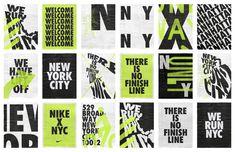 Nike X NYC – RegretsOnly® – The art and design practice of Caleb Halter Nike X NYC – RegretsOnly® – Die Kunst- und Designpraxis von Caleb Halter Nike Design, Web Design, Design Logo, Design Poster, Typography Design, Layout Design, Branding Design, Event Branding, Nike Poster