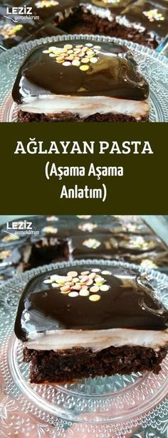 Recipes - Ağlayan Pasta (Aşama Aşama Anlatım) - Apocalypse Now And Then Sweet Desserts, Easy Desserts, Easy Easter Recipes, Herb Roasted Turkey, Cake Recipes, Dessert Recipes, Yummy Recipes, Walnut Cake, Vegan Cake