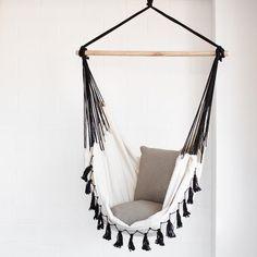 Hammock Chair   Soho Cream With Tassels | Ivory U0026 Deene