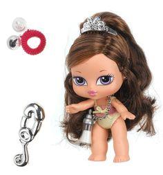 Bratz Babyz: Hair Flair Dana Little Girl Toys, Toys For Girls, Little Girls, Baby Girls, Bratz Characters, Disney Characters, Brat Doll, Back In My Day, Baby Bottles