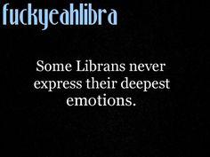 i keep most of mine hidden #Libra