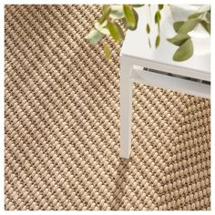 HELLESTED Rug, flatwoven, natural, brown, 6 ' ' Jute is a durable and recyclable material with natural color variations. Ideal in your living room or under your dining table since the flat-woven surface makes it easy to pull out the chairs and vacuum. Tapis Jute Ikea, Ikea Rug, Large Rugs, Small Rugs, Room Rugs, Rugs In Living Room, Medium Rugs, Professional Carpet Cleaning, Brown Rug