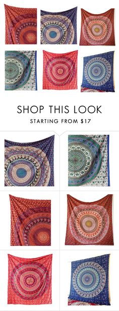 """Tapestries Wall hangings For Home decor"" by fashionsarmaya on Polyvore featuring interior, interiors, interior design, home, home decor and interior decorating"