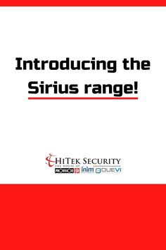 Sirius HD cameras rely on both state-of-the-art Sony Starvis sensor and extremely advanced lenses. Security Products, Nanny Cam, Colour Images, The Darkest, Cameras, Lenses, Sony, Night, Amazing