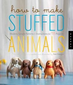 How to make stuffed animals - {Book Reviews} Sewing Titles | A Spoonful of Sugar