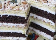Romanian Food, Romanian Recipes, Food Cakes, Cake Cookies, Nutella, Tiramisu, Cake Recipes, Biscuits, Mai