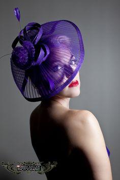 Purple hat, airen Miller Hartford Photographer, ct wedding, ct fashion, purple hat, makeup artist, that girl makeup, airen miller fashion, new country Mercedes