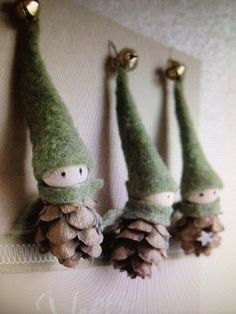 Christmas Elves how cute are these?!? Mama needs one
