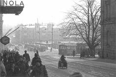 Talvinen näkymä kauppatorille | Lumisateen aikaan Kauppiaska… | Flickr