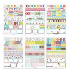Seasonstorm (TM) 6 sheets/set Cute Simple Life Calendar Paper Sticker Scrapbook Calendar Diary Planner Decor with Free Gift Logo Keychain (1 set (30 days slow shipping)) Seasonstorm http://www.amazon.com/dp/B017IY9KYW/ref=cm_sw_r_pi_dp_No96wb07EY5V3